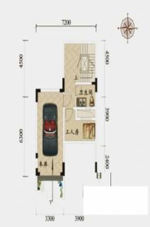 联排别墅1-1户型