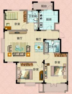 5#楼标准层户型