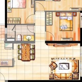 二期108平三房户型