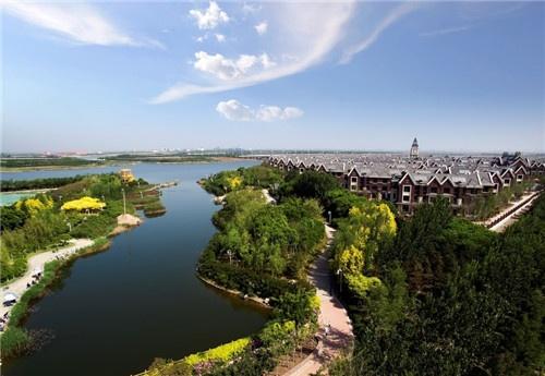 中建·海纳府,地处国际生态旅游岛,置身中新生态城丰盛配套及健全的