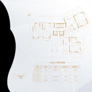 H5栋25层平面图
