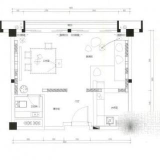 A33栋50㎡户型