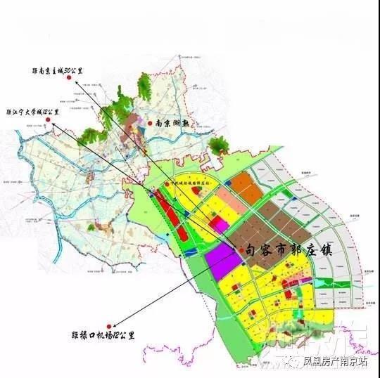 南京汤山手绘地图