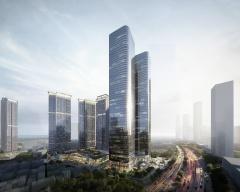 中洲滨海商业中心效果图1
