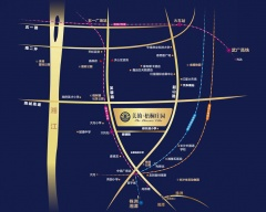 美的梧桐庄园规划图2
