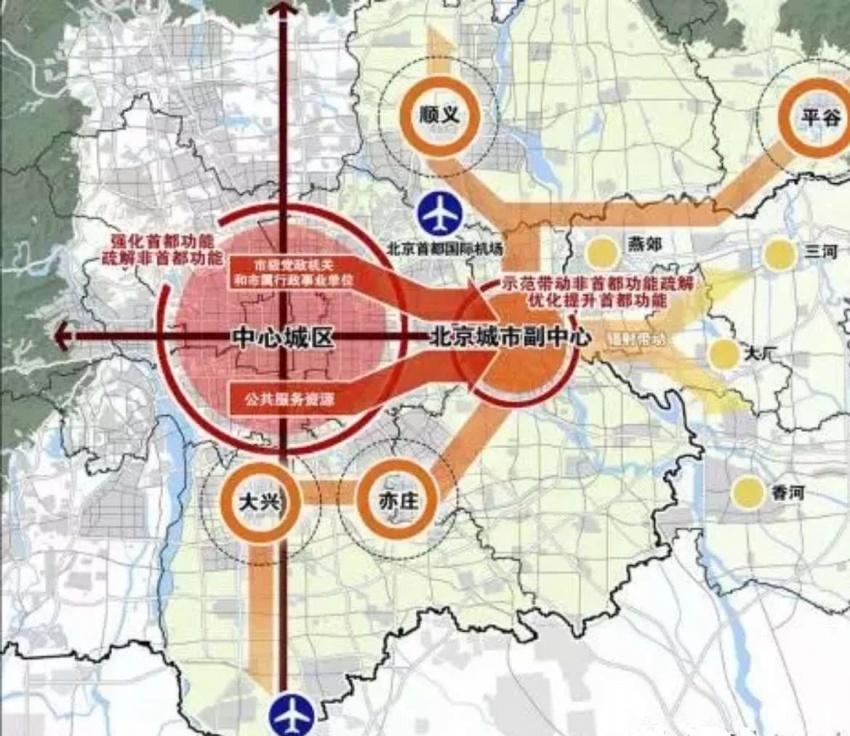 2016年12月29日,随着北京城市副中心站场地平整和路基工程的动工,京唐