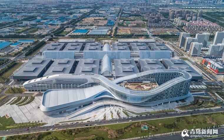 青岛世界博览城正式启用 成东亚海洋合作平台永久性会址