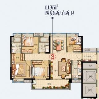 熙悦PLUS-13A栋03单元