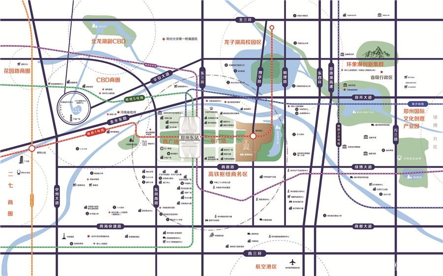 宝能郑州中心规划图2