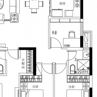20#楼K1户型