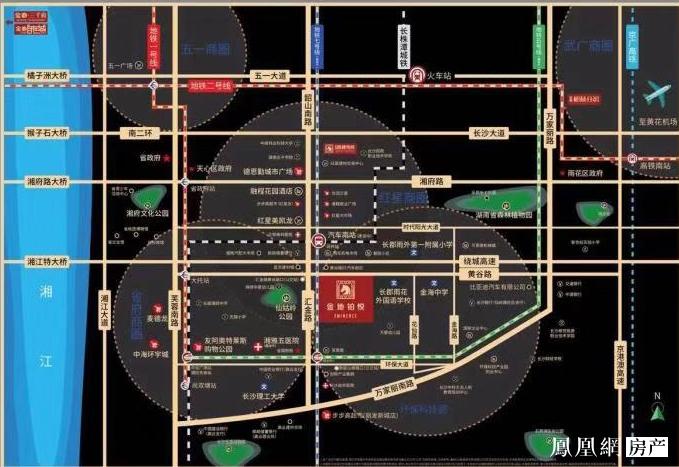 金地铂悦规划图2