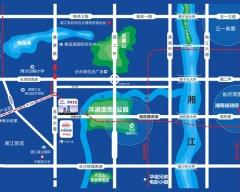 中国铁建洋湖壹品规划图2