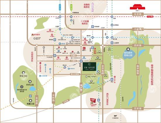 中铁·诺德春风和院规划图2