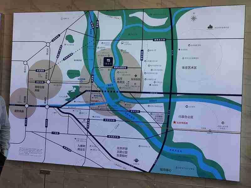 禹洲朗廷湾规划图2