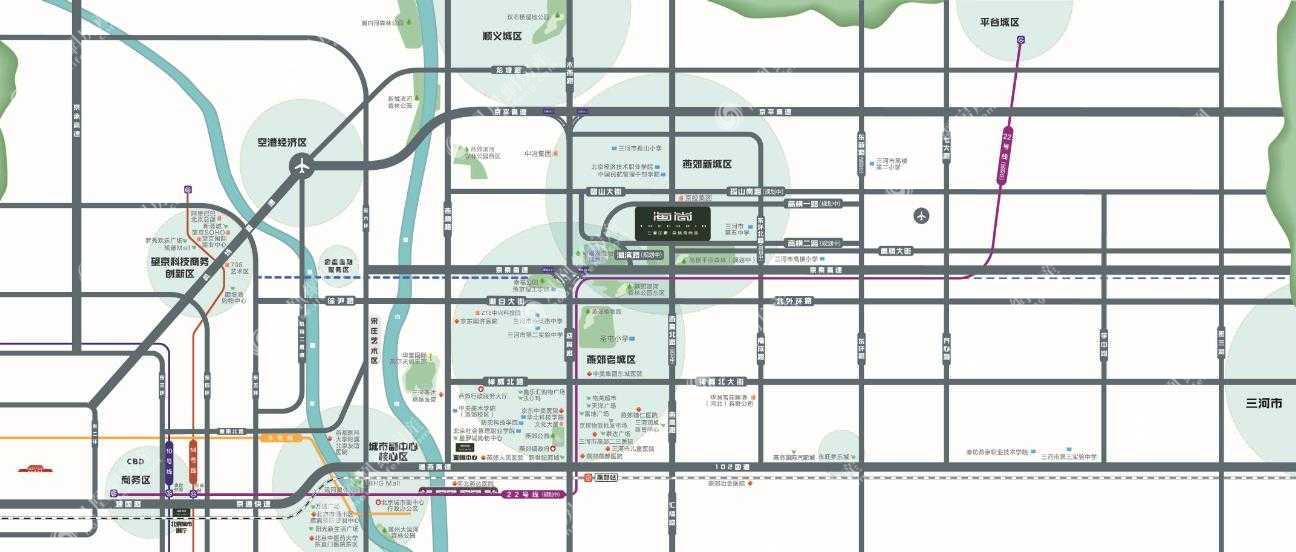 三湘印象·森林海尚城规划图2