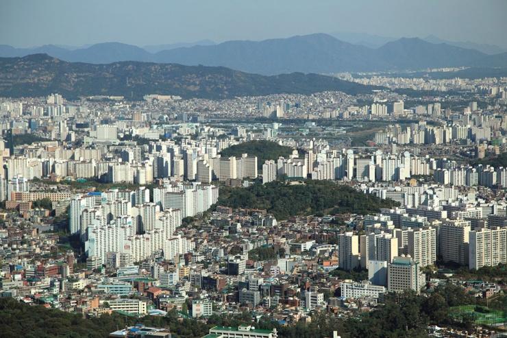 韩国的首都人口面积_韩国首都