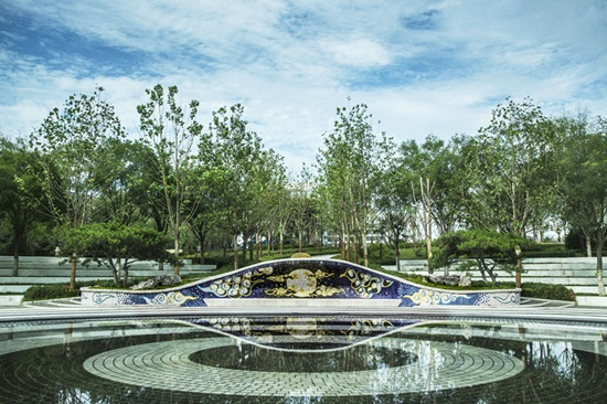弧線廣場景觀設計