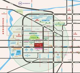 价值划定沣东大西安城市新中心蓝图,2017年,西安新城吾悦广场,盛