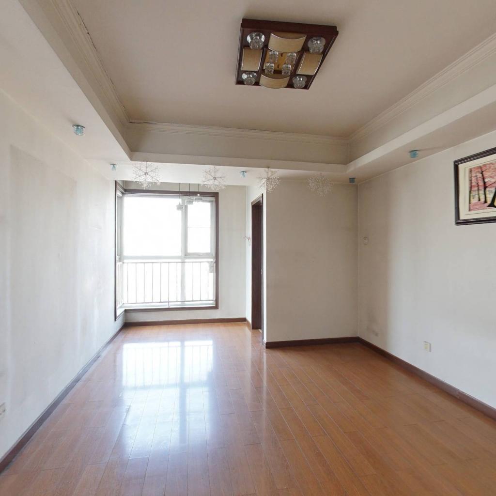 德林园 电梯房 87.36平米 二居室