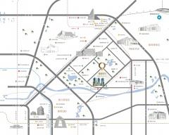 丽都悦府规划图2