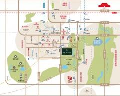 中国中铁·诺德春风和院规划图