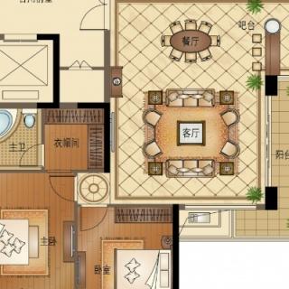 C3 四室两厅两卫 174平方米