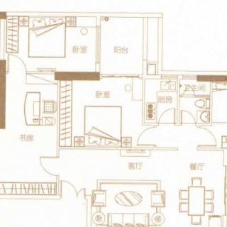 豪庭11户型