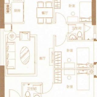 豪庭09户型