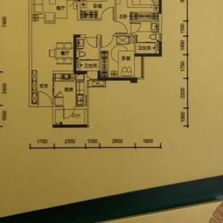 建面110平三房户型