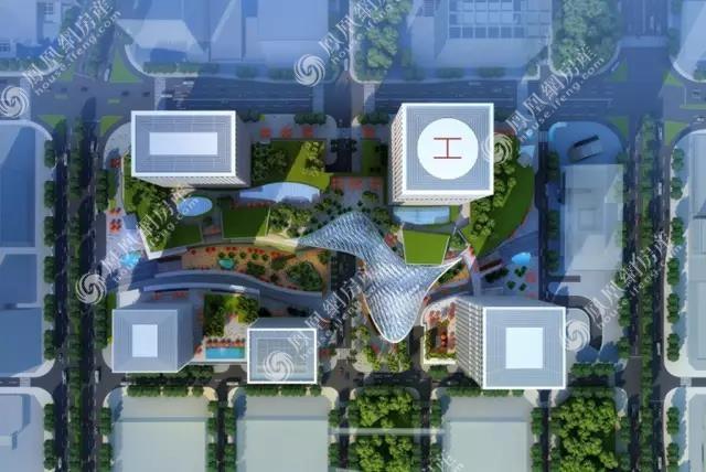 华润前海大厦效果图1
