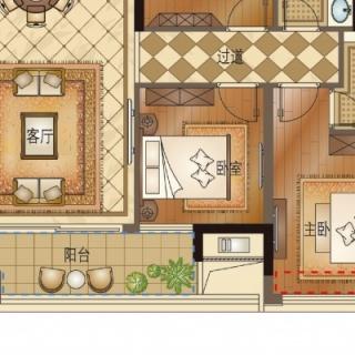 E3 三室两厅两卫 99㎡