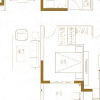 Y1户型宽境洋房