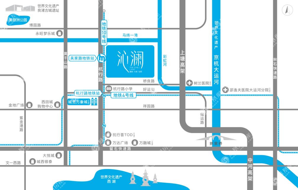 融信大发弘阳沁澜规划图2