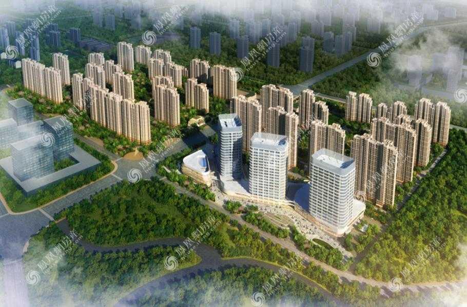 三湘印象·森林海尚城效果圖1