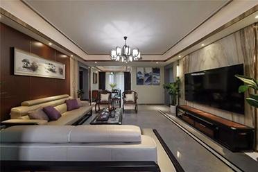 新中式风大宅,榻榻米、衣柜、书桌三合一